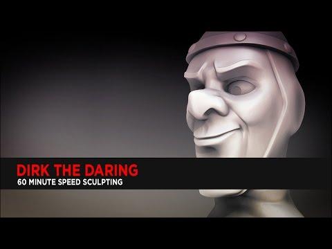 Dirk The Daring : ZBrush Speed Sculpting