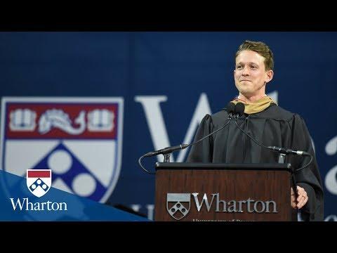 Stu Barnes-Israel, Student Speaker | Wharton MBA Graduation 2018