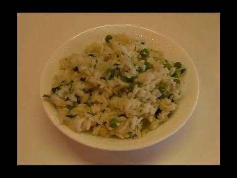 Betty's White Rice with Green Peas