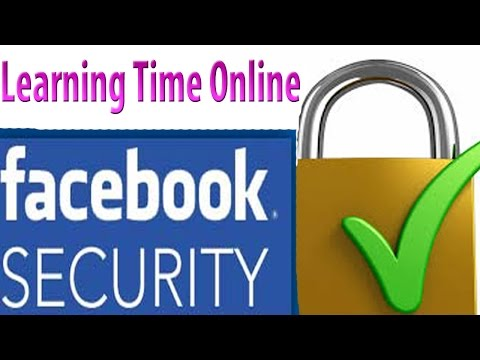 Facebook Security Setting part 1-how to turn on Facebook login approvals and login alerts