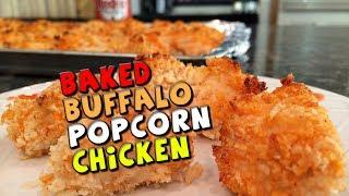 Baked Buffalo Popcorn Chicken Recipe Healthy
