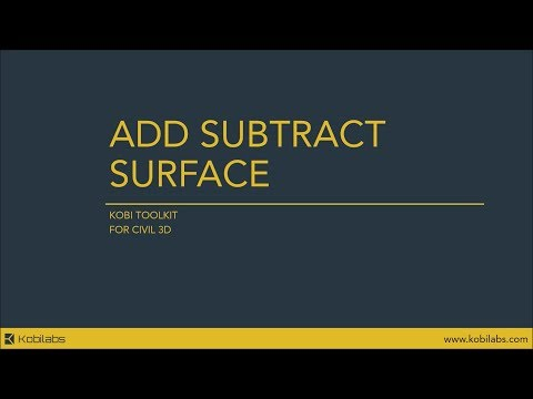 Add Subtract Surface