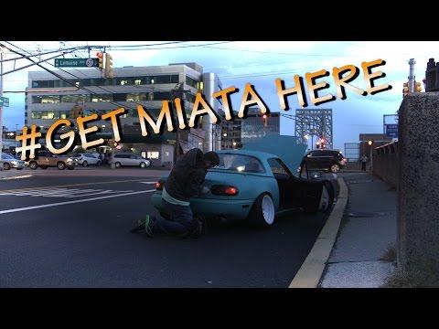 Stanced Miata Breaks Down (in multiple ways)
