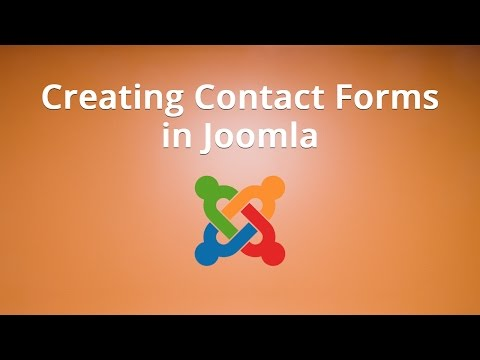 Creating Contact Forms in Joomla