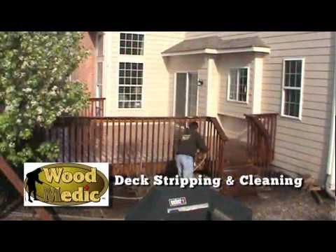 Wood Medic, Inc. - Deck Staining, Deck Cleaning Deck Pressure Washing
