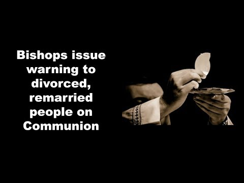 Bishops issue warning to divorced
