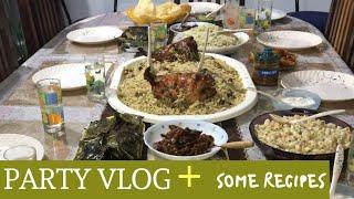 Party Vlog I Shawaya Chicken Recipes I Dragon Chicken I Three Desserts Recipes