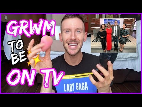 GET READY WITH ME to be ON TV   Talk Show VLOG