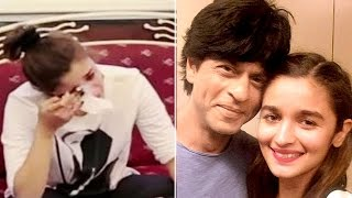Shahrukh Khan makes Alia Bhatt CRY