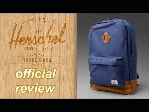 0332ec13415 HERSCHEL BACKPACK UNBOXING! - Herschel Heritage Natural Backpack