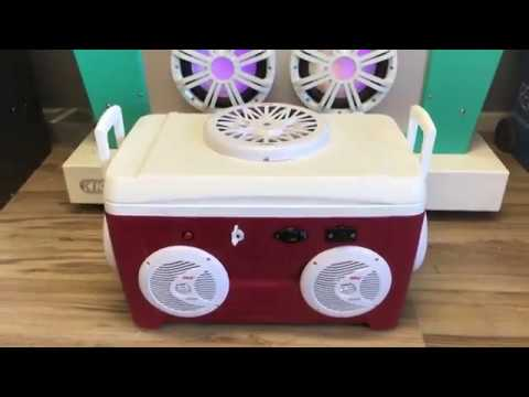48qt Cooler Radio w/ 6.5