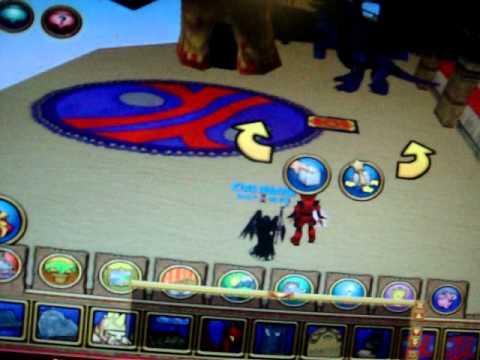 Wizard101 Glitch: Floating Carpet Trick