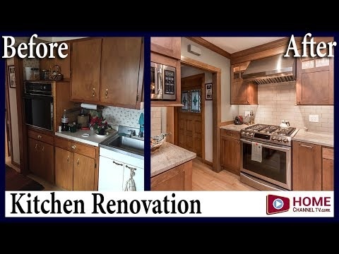 Remodeling Kitchen Before and After | Farmhouse Kitchen Makeover by KLM Remodelers