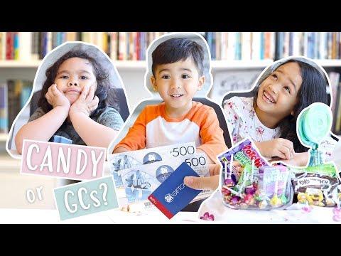Kids Choose a GIft for their Mom (SUPER CUTE!!!) | Janina Vela