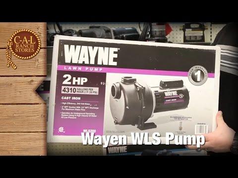 Wayne Lawn Pump - 2 Horsepower