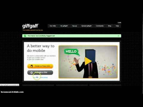 Giffgaff £5 FREE CREDIT (UK'S CHEAPEST NETWORK)