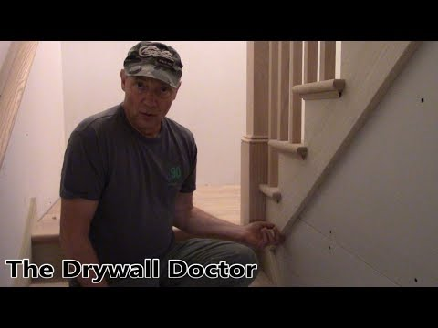 How Drywall Mud Stains Wood and Ways to Cut in Off Angles