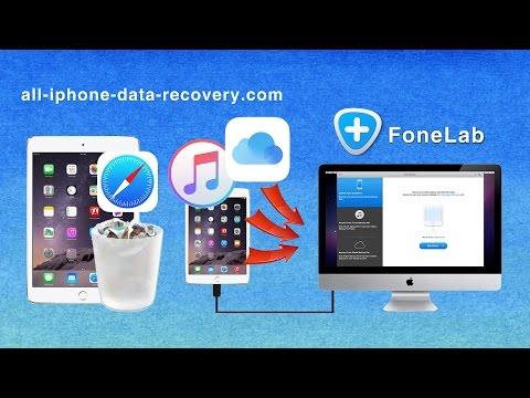 iPad Air Bookmark Recovery: Three Ways to Recover Safari Bookmark from iPad Air