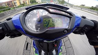 Yamaha Y15ZR Top Speed GPS VERIFIED