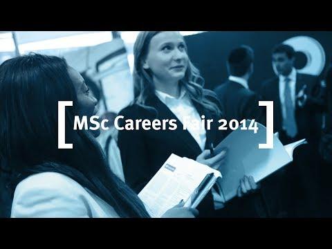 Cass Business School: MSc Careers Fair 2014