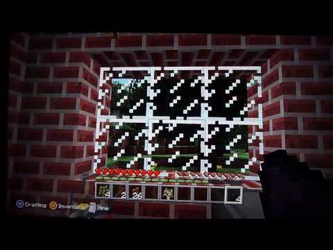 How to make Glass Panes in Minecraft? - Xbox 360 Edition