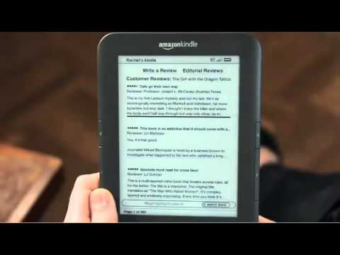 Amazon Kindle 3   Complete Overview   OFFICIAL