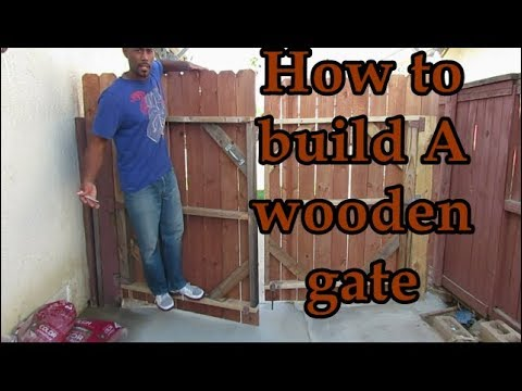 Learn How To Build A Wood Gate You Will Love For Years To Come - Fix That Sagging Gate