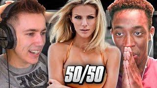 THE 50/50 CHALLENGE!!