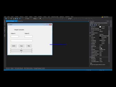 Implement WCF service with windows form application in C#? Develop WCF service tutorial