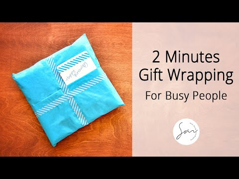 2 Minutes to Make - Creative Gift Wrapping for Busy People!
