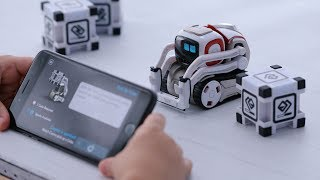 My NEW PET ROBOT Cozmo!  A Real-Life WALL-E