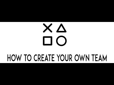 How to create your own team on madden 17