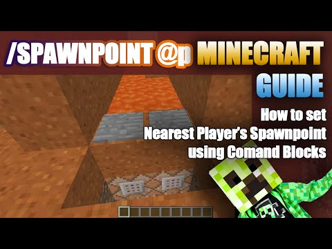 Quick Minecraft Guide for Setting Player Spawn Point