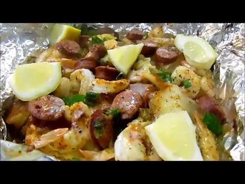 shrimp boil foil recipe
