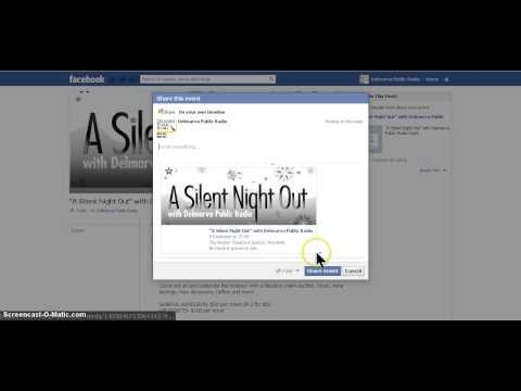Tutorial: How To Create A Facebook Event Page