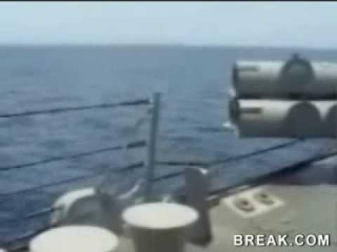 Hilarious torpedo failure on ship!