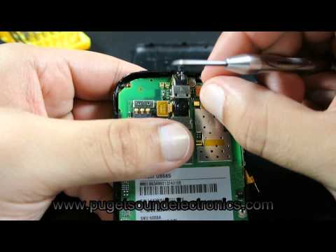 How to dissassemble At&t Huawei Fusion 2 U8665