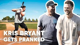 Baseball Star Kris Bryant Gets Pranked by Hall of Famer Greg Maddux