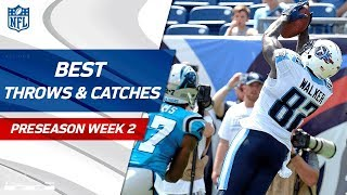 Best Throws & Catches of Week 2 | NFL Preseason Highlights