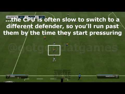 FIFA 14 How to beat Legendary & Ultimate difficulty CPU Tutorial (Part 2 - Attacking Tips)