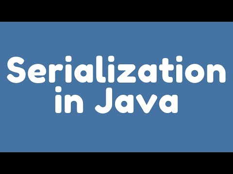 What is Serialization in Java ?. (Java Interview Questions and Answers)