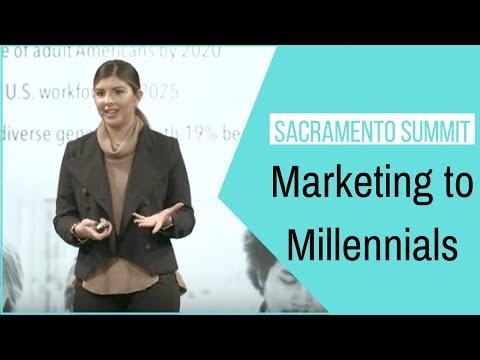Chelsea Krost Marketing to Millennials at Sacramento Summit