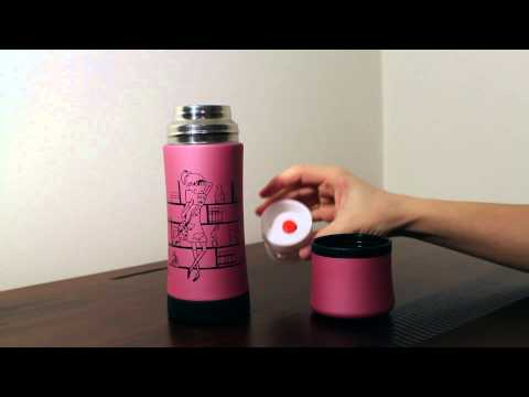 Pink Thermos Stainless Steel Vacuum Bottle Flask Mug Insulated 350 m