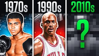 The BEST Athlete Of Every Decade In Sports