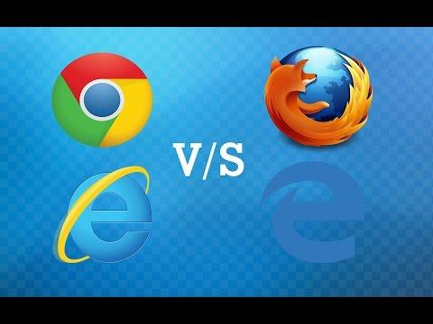 Chrome vs Edge vs IE vs Firefox : SPEED TEST