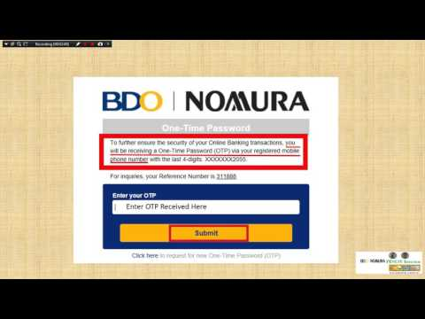 How to Fund your Bdo Nomura Settlement Account