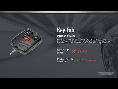 Ford Key Fob Programming Video by Dorman Products