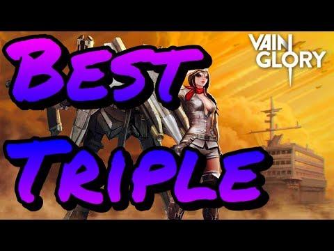 Vainglory - Best Triple I've Gotten In Blitz!!!![CP] Skye