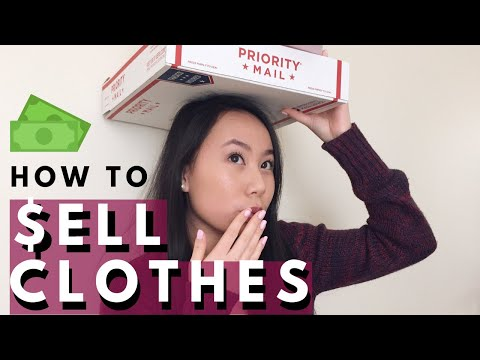 How to Sell + Package Your Clothes On Vinted!