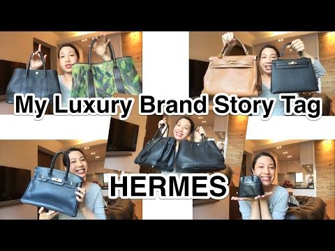 MY LUXURY BRAND STORY TAG | HERMES